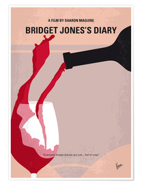 Poster Premium Bridget Jones's Diary (Il diario di Bridget Jones)
