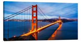 Stampa su tela  Golden Gate Bridge a San Francisco