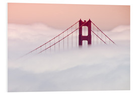Forex  Golden Gate Bridge in the clouds