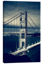Stampa su tela  Golden Gate Bridge, San Francisco