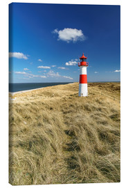 Stampa su tela  Lighthouse - Sylt Island - Achim Thomae