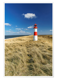 Poster Premium  Lighthouse - Sylt Island - Achim Thomae