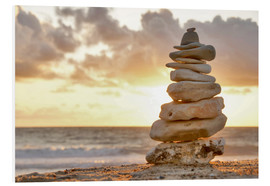 Forex  Cairn in the evening light