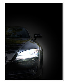 Poster Premium The eye of the sports car