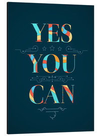 Stampa su alluminio  Yes you can - Typobox