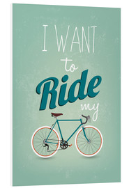 Forex  I want to ride my bike - Typobox