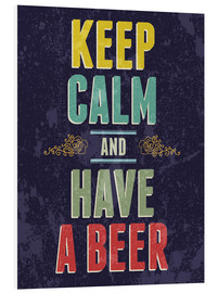 Forex  Keep calm and have a beer - Typobox