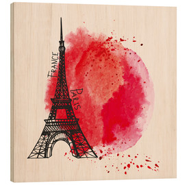 Legno  Paris splash