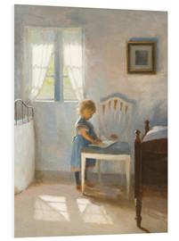 Stampa su schiuma dura  Sunlight in the nursery - Peter Vilhelm Ilsted