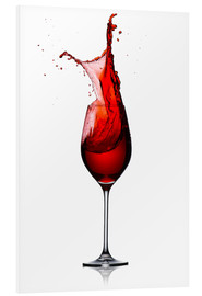 Forex  Red Wine Glass