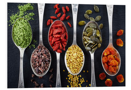 Stampa su schiuma dura  Healthy ingredients