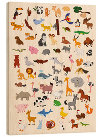 Legno  Animal World - Kidz Collection