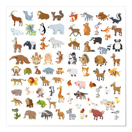 Poster Premium  Who among us appears twice? - Kidz Collection