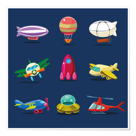 Poster Premium  From the skies - Kidz Collection