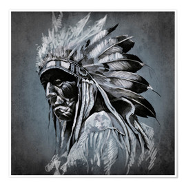 Poster Premium  Old chieftain