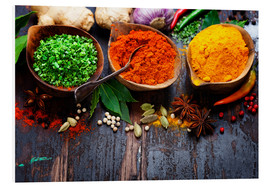 Forex  Colorful spices diversity