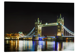Stampa su alluminio  Tower bridge at night