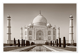 Poster Premium  Taj Mahal in sunrise light