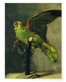 Poster Premium  The green parrot - Vincent van Gogh