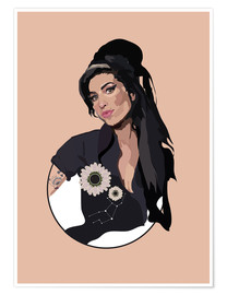 Poster  Amy Winehouse - Anna McKay