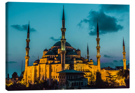 Stampa su tela  Blue Mosque in Istanbul