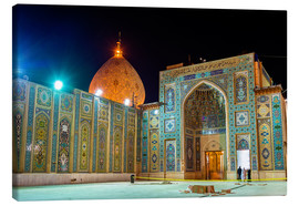 Stampa su tela  Shah Cheragh, a funerary monument and mosque in Shiraz, Iran