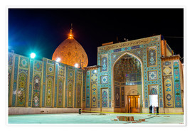 Poster Premium  Shah Cheragh, a funerary monument and mosque in Shiraz, Iran