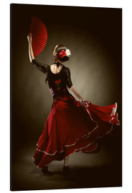 Alluminio Dibond  Flamenco dancer