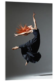 Schiuma dura  Dancer with red hair