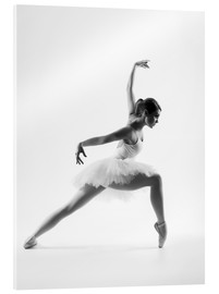 Vetro acrilico  beautiful ballet dancer