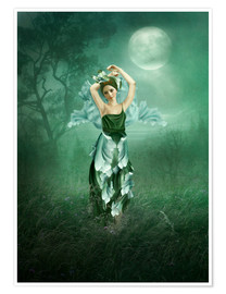 Poster Premium  Dreaming under the moon