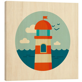 Legno  Lighthouse in a circle - Kidz Collection