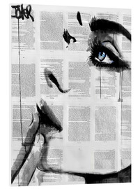 Stampa su PVC  never know - Loui Jover