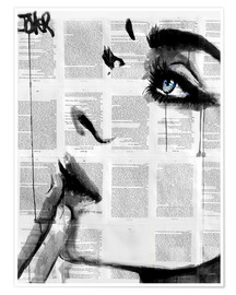 Poster  never know - Loui Jover