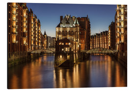 Alluminio Dibond  Water Castle - Warehouse District - Hamburg - Germany - Achim Thomae