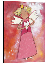 Stampa su alluminio  Blonder guardian angel for girls - Atelier BuntePunkt