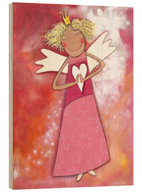 Legno  Blonder guardian angel for girls - Atelier BuntePunkt