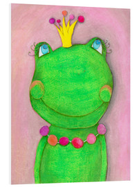 Forex  The Frog Queen and the colorful crown - Atelier BuntePunkt