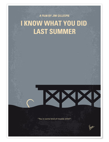 Poster Premium I Know What You Did Last Summer