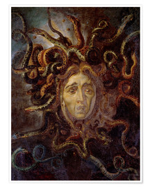 Poster Premium Head of Medusa