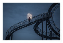 Poster Premium Stairway to the moon