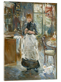 Stampa su vetro acrilico  In the Dining Room - Berthe Morisot