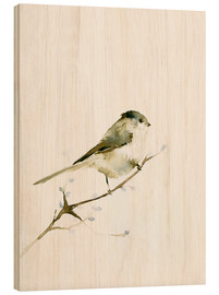 Stampa su legno  Long-tailed tit - Dearpumpernickel
