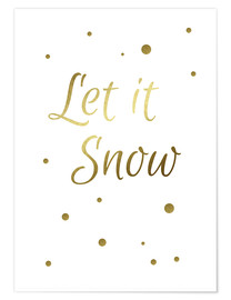 Poster Premium  Let It Snow - Finlay and Noa