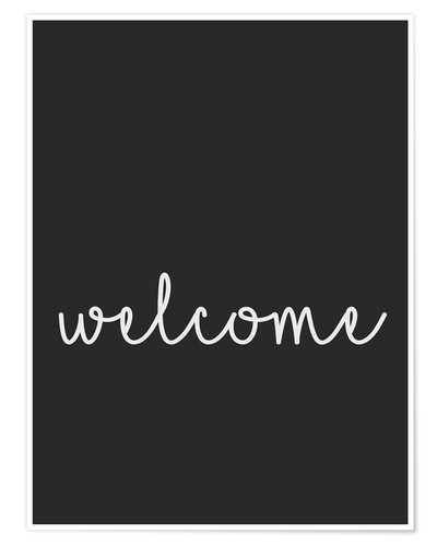 Poster Premium Welcome
