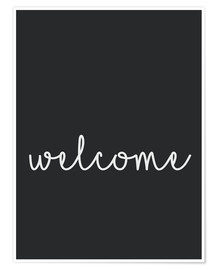 Poster Premium  Welcome - Finlay and Noa
