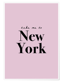 Poster  Take Me To New York - Portami a New York - Finlay and Noa