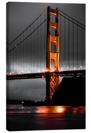 Stampa su tela  Golden Gate - Denis Feiner