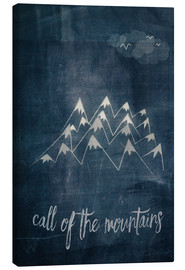 Stampa su tela  call of the mountains - Sybille Sterk