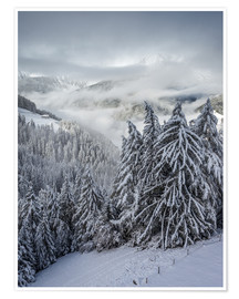 Poster Premium  Winter in Valle Aurina (South Tyrol, Italy) - Christian Müringer